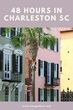 What to do with 48 hours in Charleston SC. The best of everything this city has to offer in just two days! #charleston #charlestonsc #travel #america #southcarolina #usa Best Countries To Visit, Cool Countries, I Want To Travel, Best Places To Travel, Winter Destinations, Travel Destinations, Christmas Travel, Winter Travel, Charleston Sc