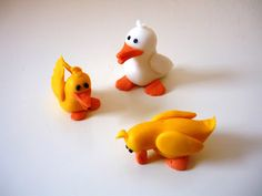 Karen Anne Groothedde fondant ducks