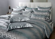 Ruwen Silk Bed Linen on www. Silk Bedding, Bed Linen, Comforters, Blanket, Home, Dyeing Yarn, Bed Ideas, Bed Linens, Creature Comforts