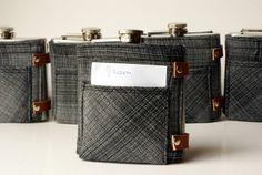 Groomsmen gift $33 Jean Pocket Flask