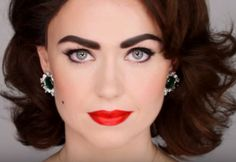 How To Do an Elizabeth Taylor Mole | Elizabeth Taylor-Inspired Makeup Tutorial, check it out at http://makeuptutorials.com/elizabeth-taylor-makeup-tutorial