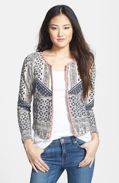great print and jacket