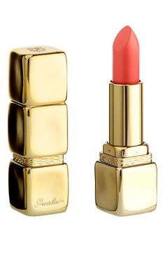 Guerlain 'KissKiss' No. 541 Lipstick Peche Fougeuse available at Nordstrom