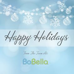 Wishing Everyone A Happy Holiday Season!