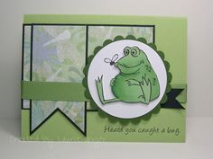 Laurie's Stampin Place: Heard you caught a bug