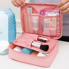 11 Colors Make up organizer bag Women Men Casual travel bag multi functional Cosmetic Bags storage bag in bag Makeup Handbag