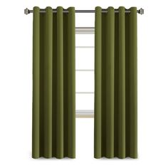 FlamingoP Blackout Grommet Curtain Panel -Olive - Sold by Panel
