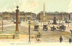 Paris 1900 Place de la Concorde