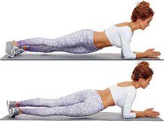 Brooke Burke Shares Her Ab Workout in Shape