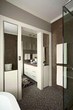 LEED Led Summit Splendor - modern - Bathroom - Minneapolis - Ingrained Wood Studios: The Lab