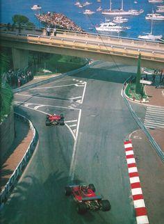 #11 Jody Scheckter...#12 Gilles Villeneuve...Scuderia Ferrari SpA SEFAC...Ferrari 312T4...Motor Ferrari 015 F12 3.0...GP Monaco 1979