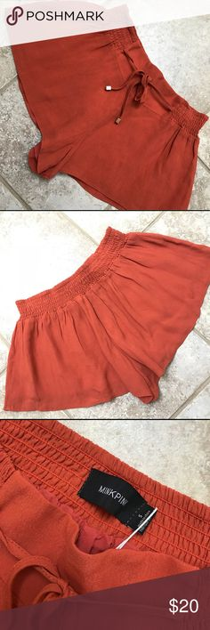 48c2b39721f75 Minkpink shorts Burnt orange color. Flowy