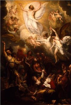 The Ascension - Benjamin West