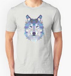 Game Of Thrones Polygonal Dire Wolf   RedBubble Unisex Light Grey TShirt   All Sizes Available for Men and Women @redbubble