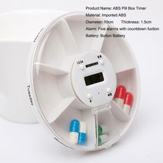 7 Best Electronic Pill Box Timer 7 Days Pill Dispenser Box With