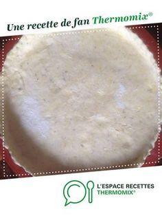pâte croustillante et allégée pour quiches et tartes salées par PValerie. Une recette de fan à retrouver dans la catégorie Tartes et tourtes salées, pizzas sur www.espace-recettes.fr, de Thermomix®.