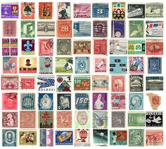 a great stamp collection