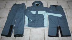 Skianzug Schneeanzug Gr. 152-164 Skijacke + 2 Skihosen grau blau Pose, Nike Jacket, Athletic, Jackets, Fashion, Snowboarding Jackets, Ski Pants, Sport Clothing, Gray