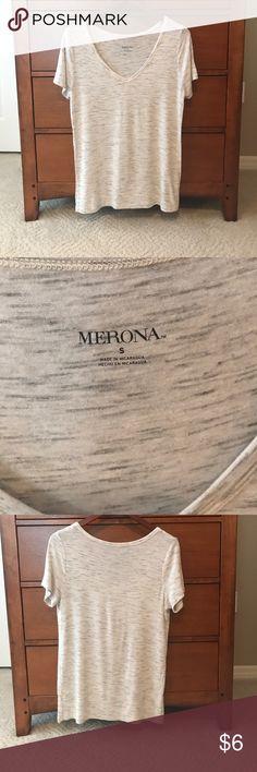 Merona Tee Shirt From Target, fits like a medium Merona Tops Tees - Short Sleeve
