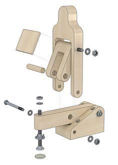 """""""BricAuBoisAuFer"""" pour les amateurs du bricolage. :: Fabrication sauterelles."""