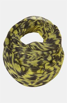 @Topshop 'Lime Leopard' Print Scarf  #Nordstrom #britishstyle
