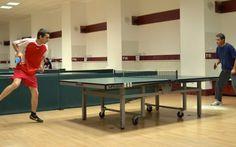 Competitie de tenis de masa la Constanta Ping Pong Table, Romania, Sport, Home Decor, Tennis, Sports, Deporte, Decoration Home, Room Decor