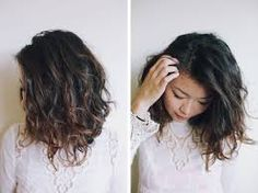 Image result for short black hair balayage