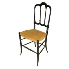 Early Chiavari   From a unique collection of antique and modern side chairs at https://www.1stdibs.com/furniture/seating/side-chairs/