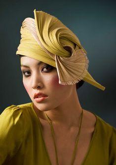 Laurence Leleux Art Deco Hat.