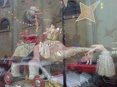 Prague, Surreal Barbie Display in Restaurant Window by Roy Stead, via Flickr