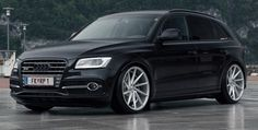 Full Black Audi SQ5 on Vossen VVS-CVT