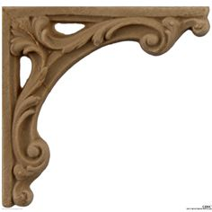 Stair Brackets 2 High 2 Wide-for-stairs-woodwork-furniture-Decorators Supply Stair Brackets, Wooden Brackets, Iron Spindle Staircase, Chair Design Wooden, Wood Appliques, 3d Cnc, Wooden Stairs, Art Deco Furniture, Ceiling Medallions
