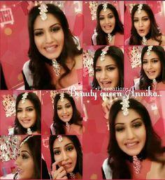 #prettyqueen #beautyqueen #Annika loved the new look  Pic credit- khannaji... #surbhi #surbhichandana #Ishqbaaaz