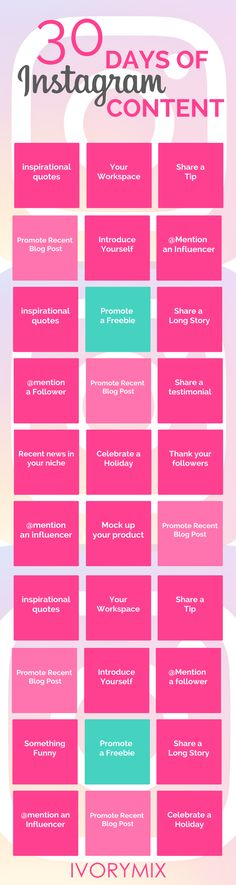Plan 30 days of Instagram content in just 8 steps