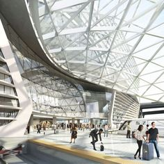 Denver . The Airport Hotel and Transit Center program aims to reinvent the way Denver International Airport (DEN) connects to the city — providing...