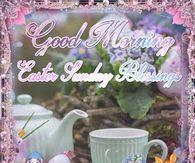Good Morning Easter Sunday Blessings