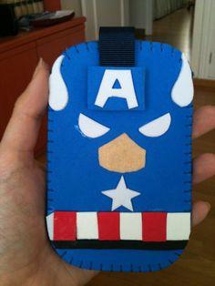 Funda Capitán América/ Captain America mobile case