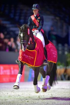 Charlotte Dujardin and the great Valegro!