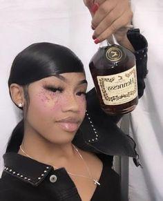 Pretty Black Girls, Beautiful Black Girl, Pretty Woman, Baddie Hairstyles, Cute Hairstyles, Best Twerk Video, Gangster Girl, Weed Girls, Bad Gal