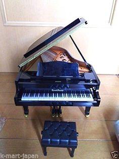 SEGA Japan Toys Grand Pianist plus PIANO YAMAHA Black Hakase Taro music JP 12 #SEGATOYS
