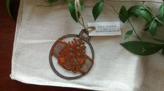 Steel and Copper Pinecone by GowenStudios on Etsy