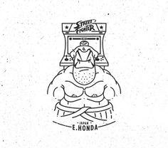 Street Fighter / JAPAN / E . Honda #logo #beard #streetfighter #ehonda #cosplayers #capcom #html #ko #atari #game #arcade #marvel #vector #japan #tokyo #picame #retrogaming #illustree #kadikoy #nintendo #instagram #ui #SFV #illustration #istanbul #character #man #anime #dribbble #designspiration @logothorns @turgaymutlay by http://ift.tt/1hw51wp