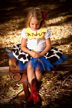 Jessie The Cow Girl Toy Story Inspired Shirt by BlissyCoutureTutus, $35.00