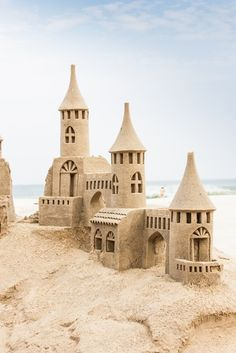 sand castles~ Repinned by rozlynburr.keyes.com or follow me on https://www.facebook.com/findyourfloridahome