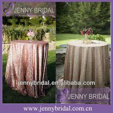 Neue sqn64a9 verkauf rosa und champagner glitter pailletten tischdecke, pailletten tischdecken perlen