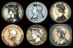 Night Gallery Coin Series by TheNightGallery.deviantart.com on @DeviantArt