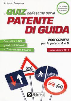 I #quiz dell'esame per la patente di guida. edizione Alpha test  ad Euro 13.52 in #Alpha test #Salute famiglia benessere