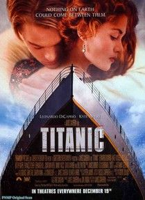 HTD Canada - Titanic Movie Poster 27 x 40 - Titanic is a 1997 American epic romantic disaster film directed, written, co-produced, and co-edited by James Cameron. A fictionalized account of the sinking of the RMS Titanic, it stars Leonardo DiCaprio and Ka Titanic Movie Poster, Film Titanic, Iconic Movie Posters, Iconic Movies, Old Movies, Classic Movies, Great Movies, Rms Titanic, Amazing Movies