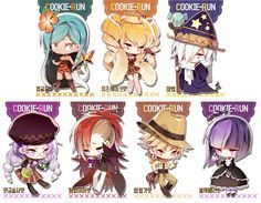Not mine Cookie Run, Cookie Time, Food Drawing, Cute Chibi, Doraemon, Cookies Et Biscuits, Beauty Art, Artists Like, Magical Girl