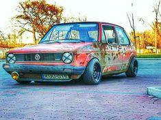 at lovers? Owne at lovers? Volkswagen Golf Mk1, Vw Mk1, Volkswagen Transporter, Mk1 Caddy, Vw Rat Rod, Jetta A2, Vw Group, Rat Look, Vw Vintage